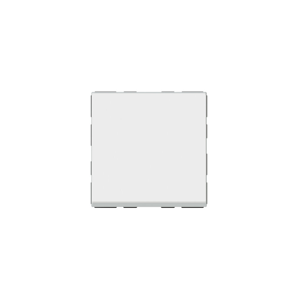 Poussoir Mosaic Easy-Led 6A 2 modules - blanc