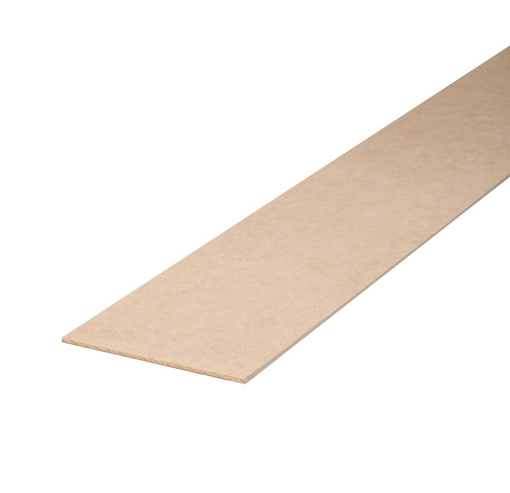 Planche arêtes vives MDF 22x150 L.2.44m