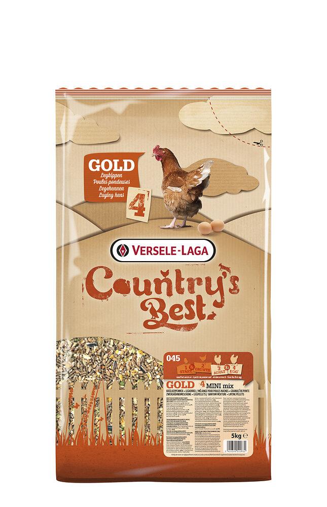 Aliment Poules pondeuses CB GOLD 4 MINI Mix 5kg