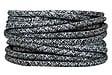 Câble tissu 3m gris chiné