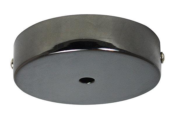 Pavillon métal diam 100mm noir perlé