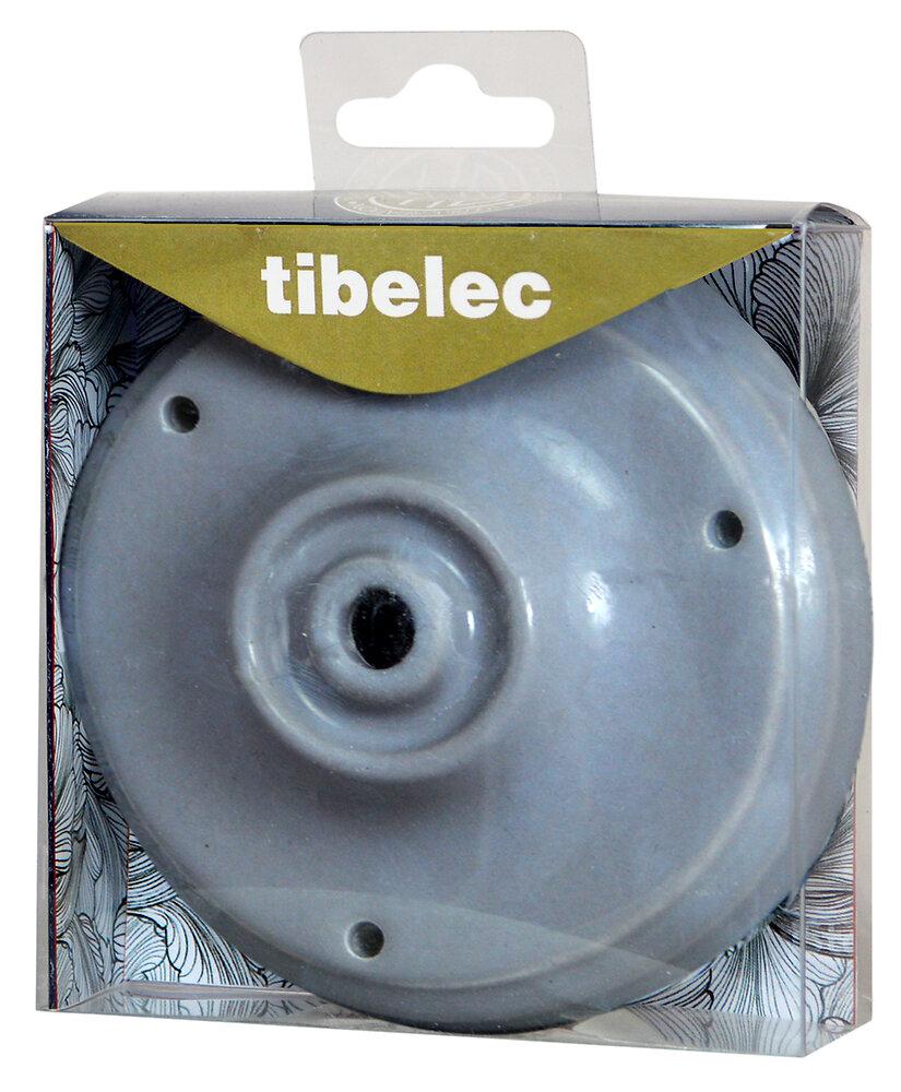 Pavillon céramique diamètre 105mm gris