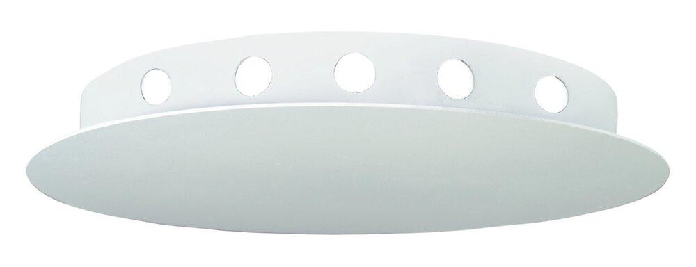 Pavillon cache-fils ''Araignée'' en métal blanc avec 12 sorties