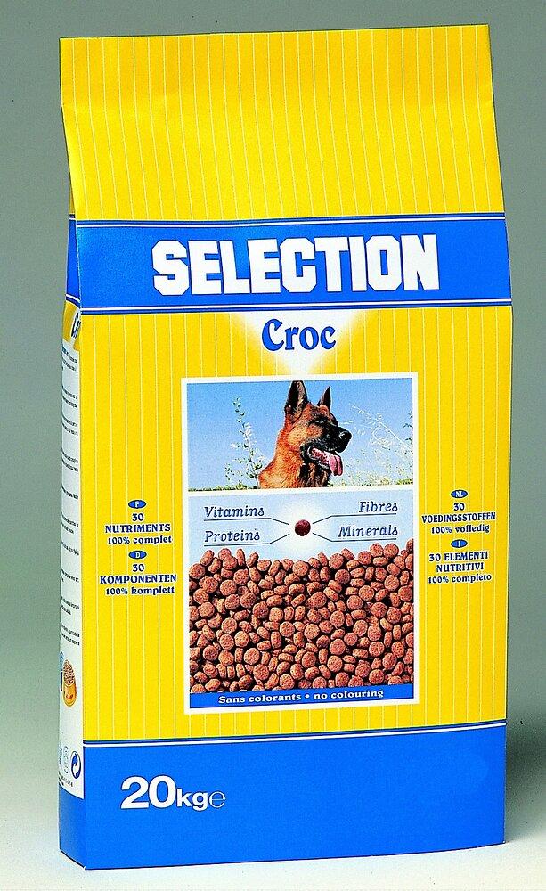 Croquettes chien SELECTION CROC 20kg