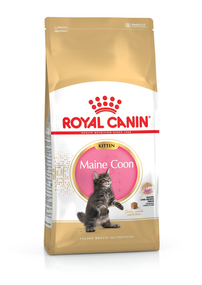 Croquettes chat MAINE COON KITTEN CHATON JUSQU'A 15 MOIS 400G