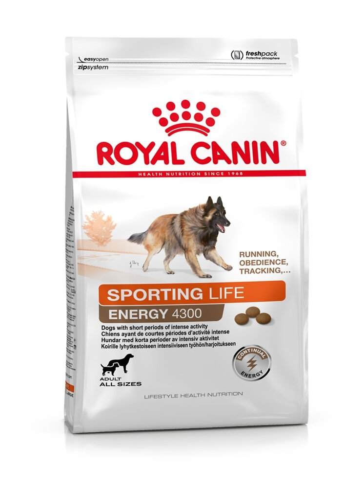 Croquettes chien SPORTING LIFE ENERGY 4300 15KG