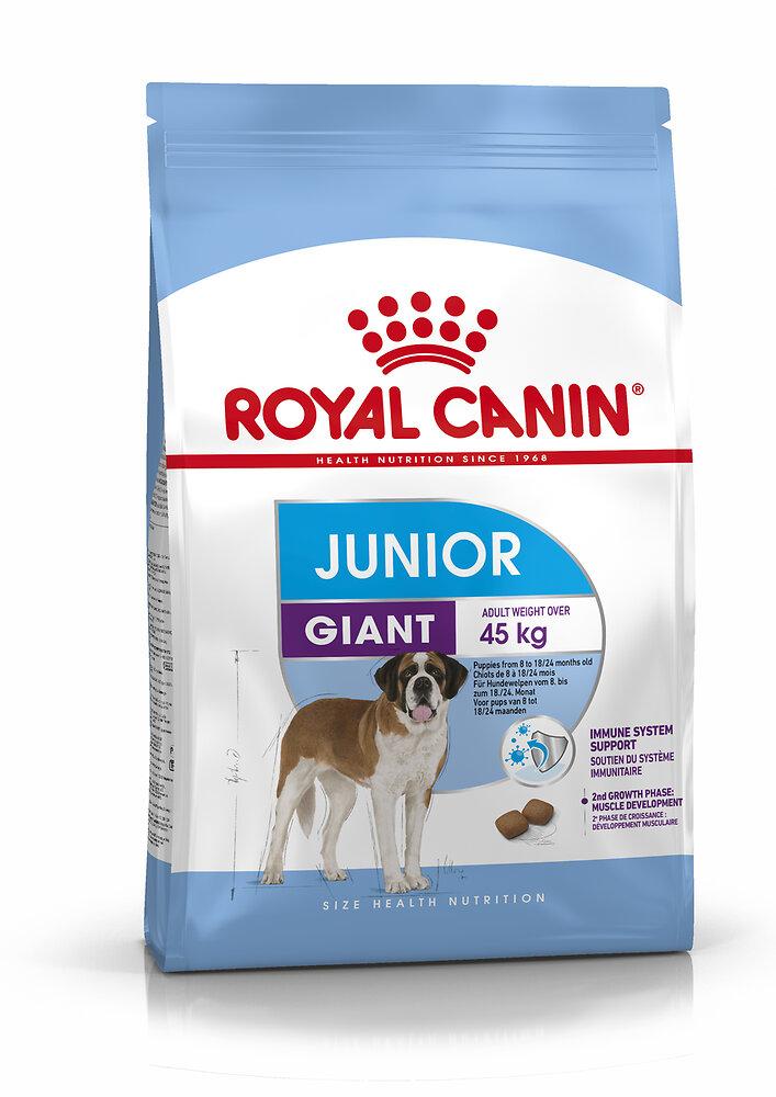 Croquettes chien JUNIOR GIANT POUR CHIOT GEANT DE 8 A 18/24 MOIS 3.5KG
