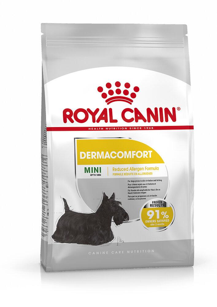 Croquettes chien MINI DERMACOMFORT 1KG