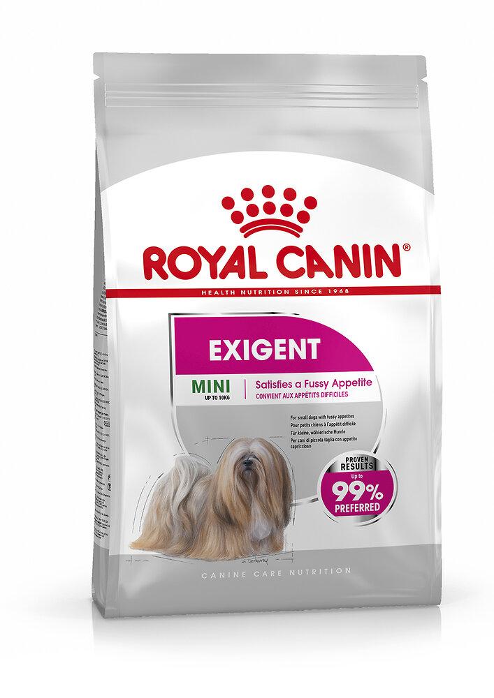 Croquettes chien MINI EXIGENT 1kg