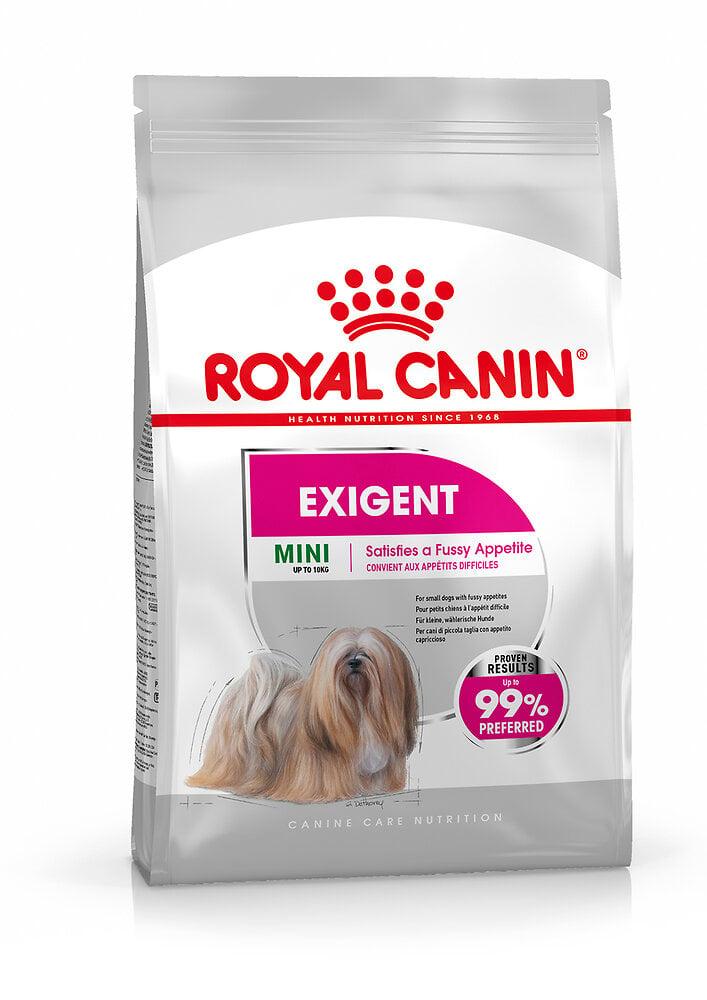 Croquettes chien MINI EXIGENT 3kg