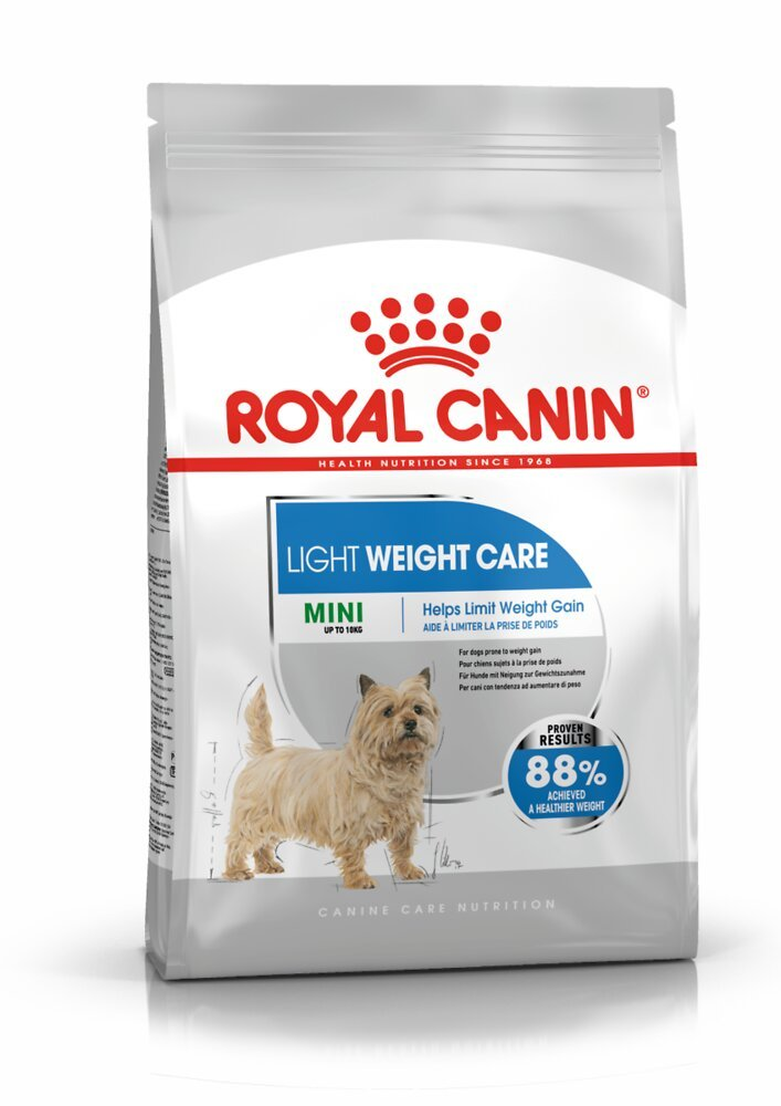 Croquettes chien MINI LIGHT WEIGHT CARE 1kg