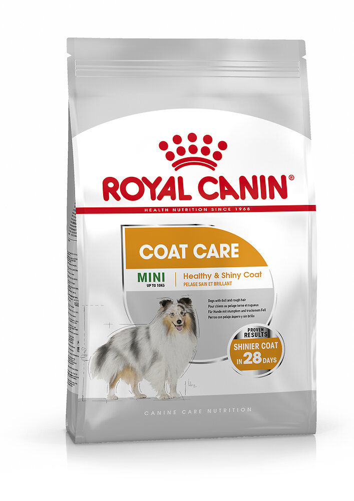 Croquettes chien MINI COAT CARE 1kg