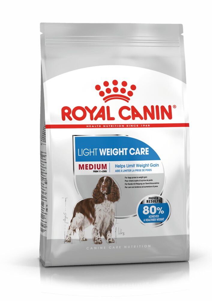 Croquettes chien MEDIUM LIGHT WEIGHT CARE 10kg