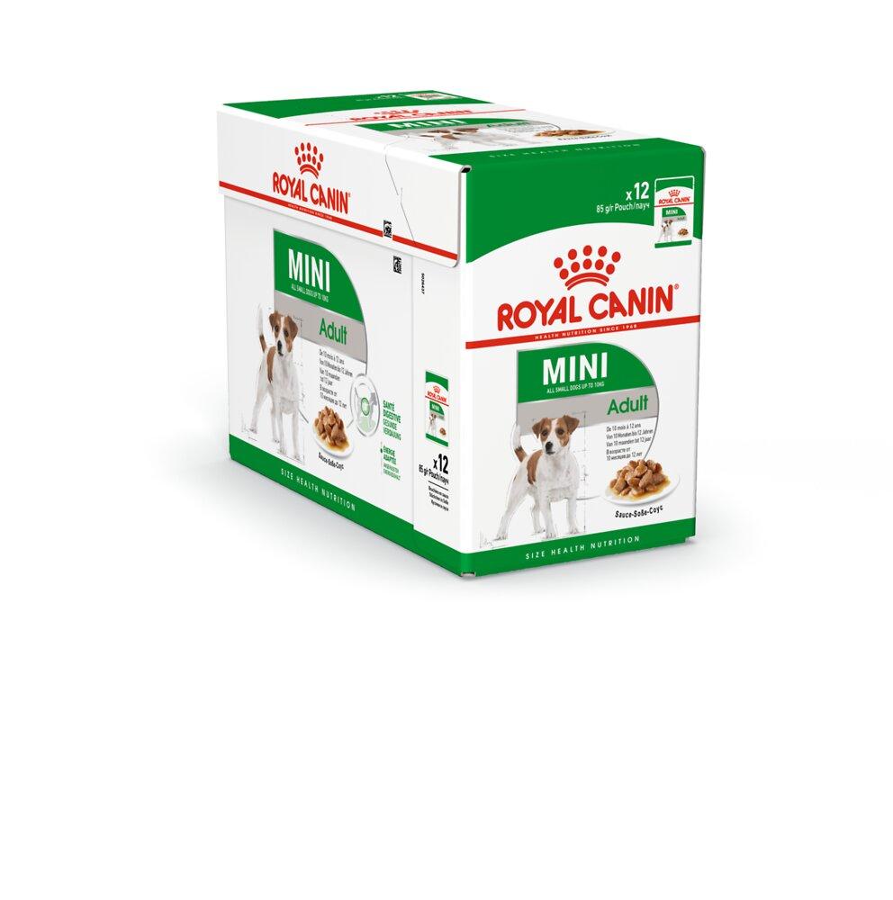 Aliment chien MINI ADULT 12X85G