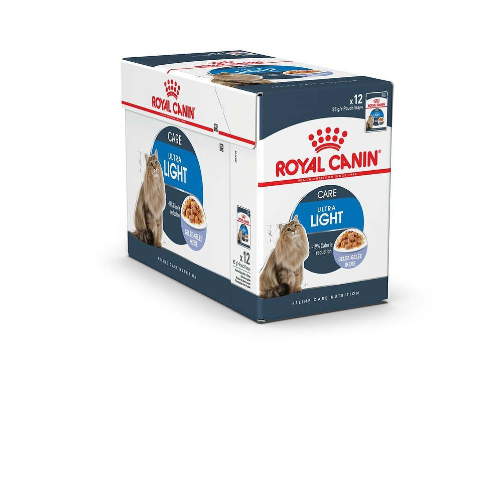 Aliment chat LIGHT WEIGHT CARE GELEE CHAT ADULTE