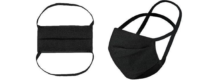 5 masques réutilisables en tissu