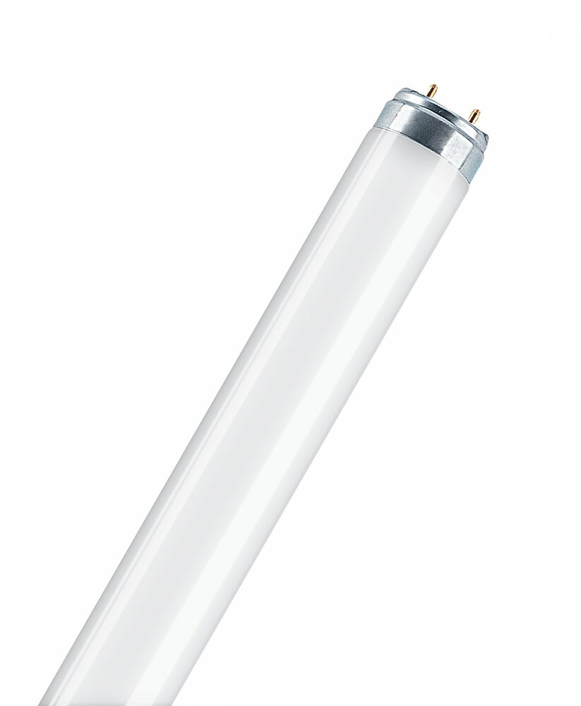 Tube fluorescent lumilux T8  18W. froid OSRAM
