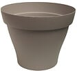 Pot rond Romeo 17 taupe