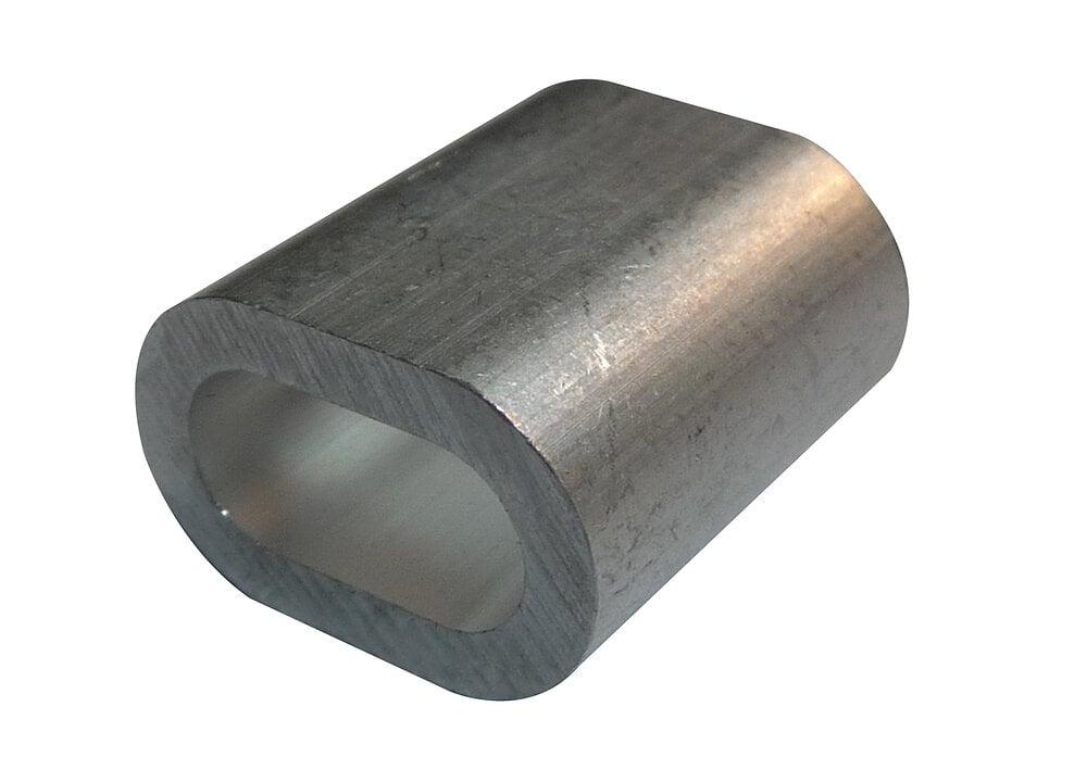 Lot de 2 manchons aluminium diamètre 5mm