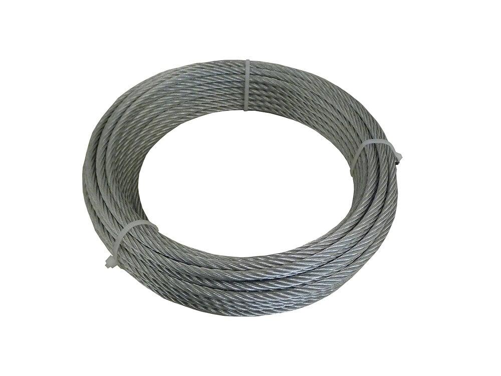 Couronne câble acier type aviation 1x7-diamètre 1.5 / L.15m