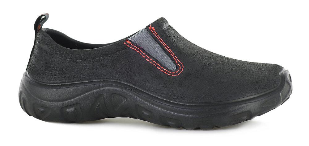Chaussures en EVA noir et rouge taille 42