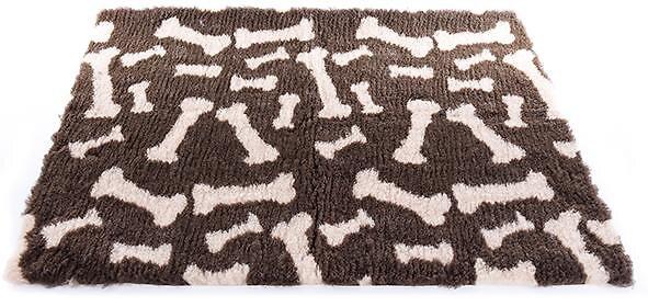Tapis pour chien Petbed imprimé os taille 50x75cm