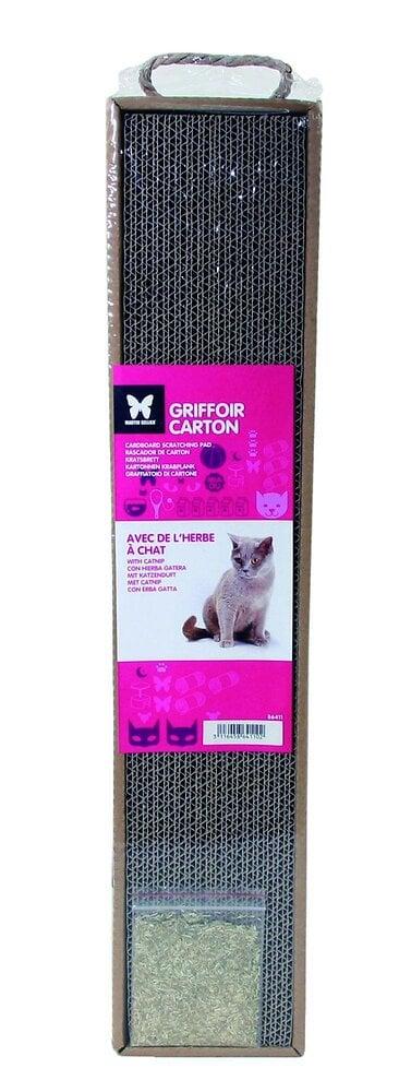 Griffoir en carton pour chat  - MARTIN SELLIER