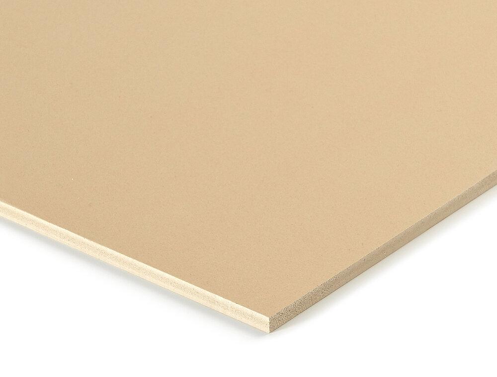 Panneau fibre coloris naturel 5mm 80x60cm