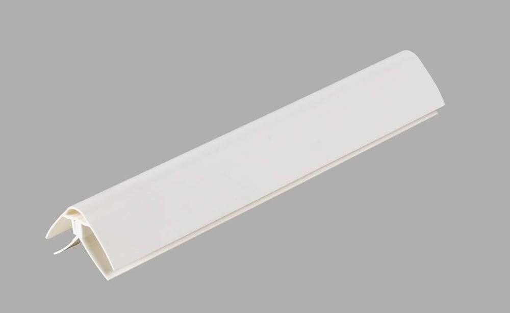 Angle universel blanc crème 2.6m