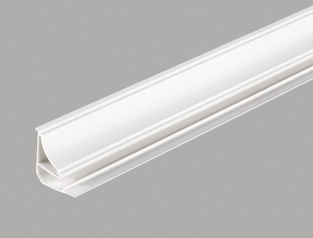 Corniche lambris PVC blanc 2.6m