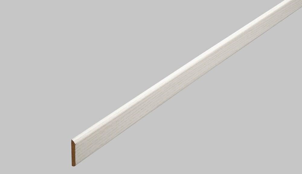 Champlat revêtu frêne blanc 2 arrondis 5x22/2.40m/PEFC 70%
