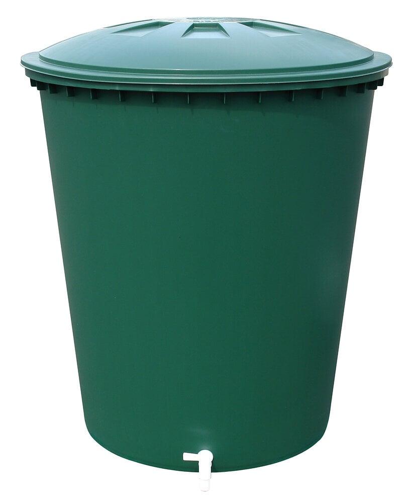 Cuve à eau 210L cylindrique verte