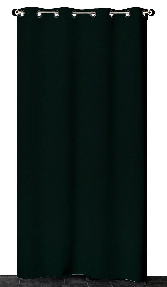 Rideau prêt à poser Noir 140x240cm