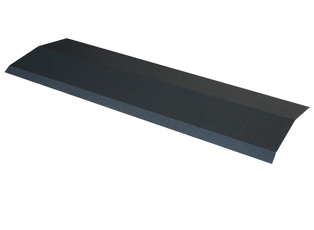 Faîtière pour panneau tuile laqué mat anthracite 92cm