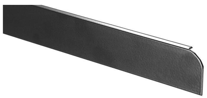 Profilalu finition rayon 3-5 Ep.28xL.670mm aluminium
