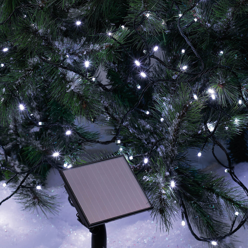 GUIRL SOLAIRE 50 LED BLANC