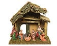 CRECHE A/8 FIGURINES POLY