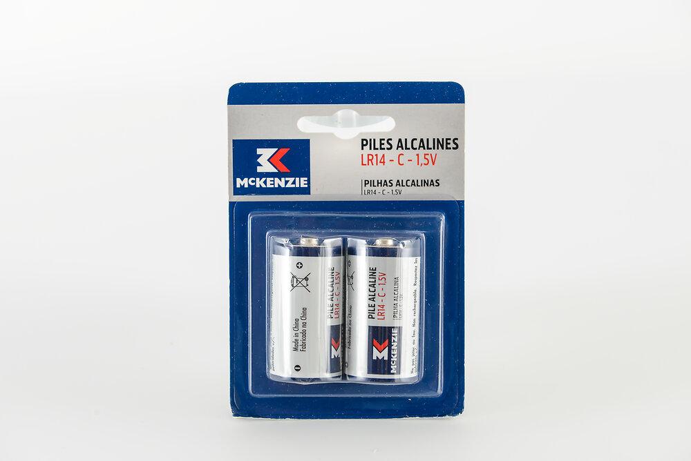 2 piles alcaline LR14