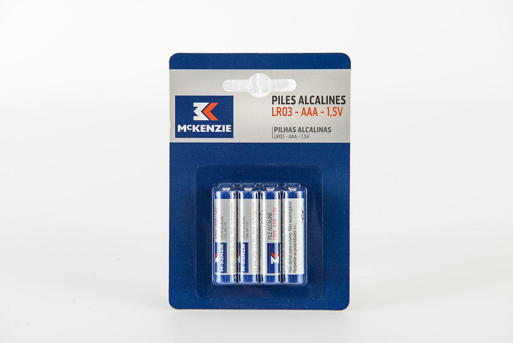 8 piles alcaline LR03