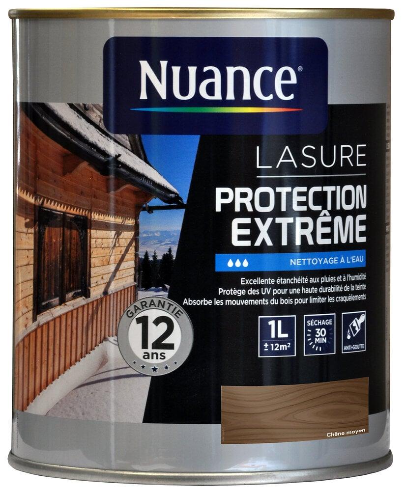 Lasure protection extrême chêne moyen 1L