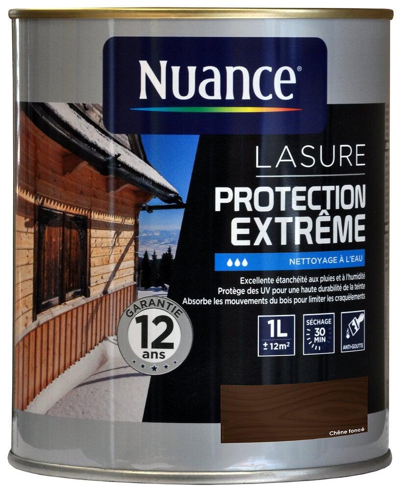 Lasure protection extrême chêne foncé 1L