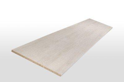 Tablette mélaminée chêne antique 120x30x1.8