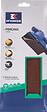 Patin rectangulaire à pince 115x280mm grain 80 lot de 10