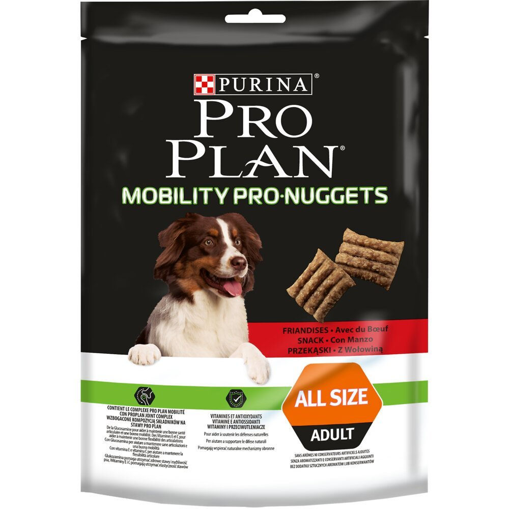 Biscuits Chien Mobility Pro Nuggets, Boeuf 300g
