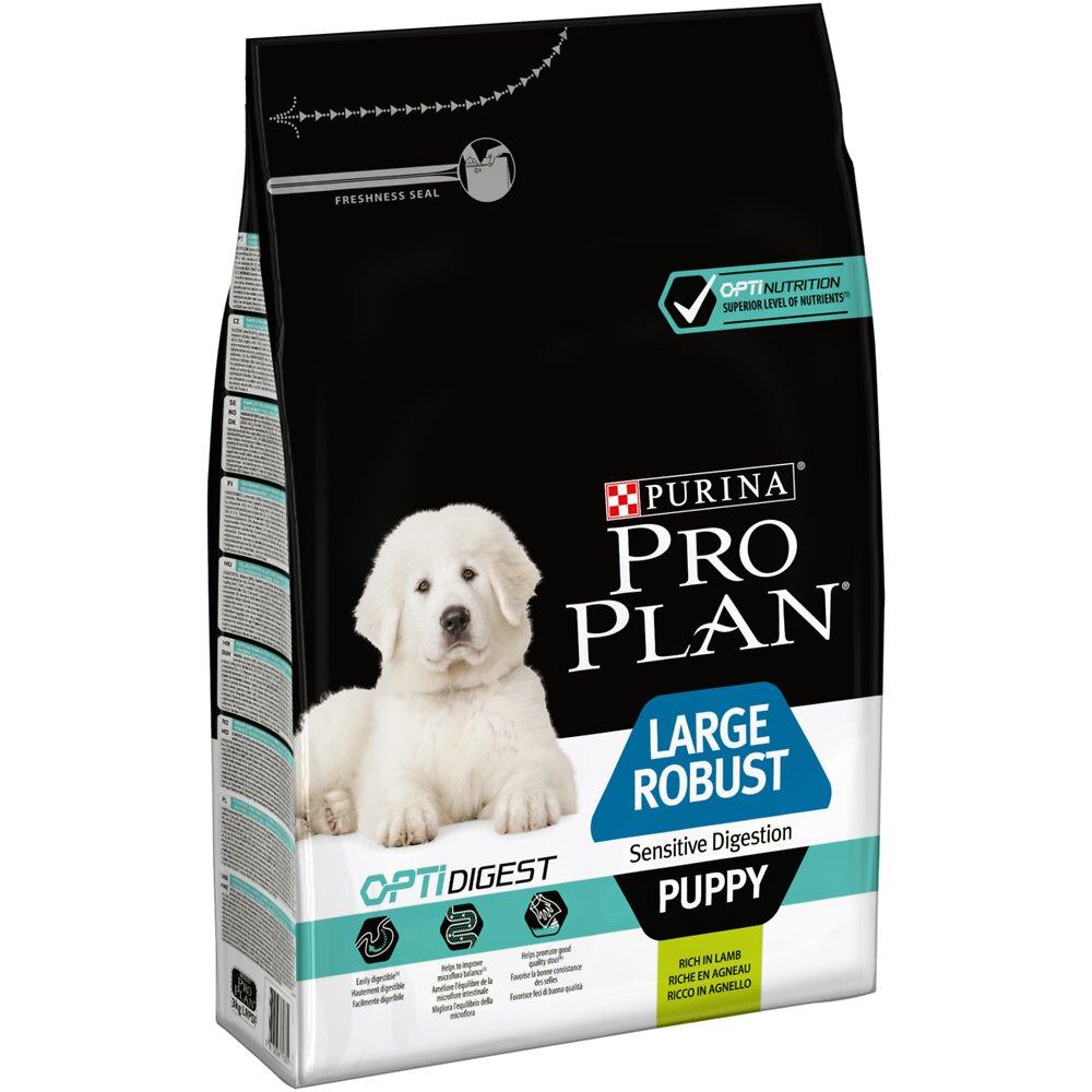 Croquettes Chien Large robust puppy sensitive digestion, Agneau 3kg