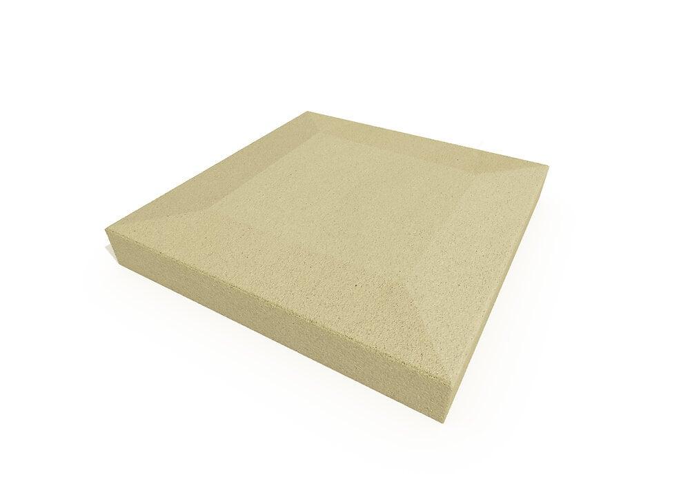 Chapeau pilier sable 40x40