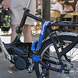 Chaîne antivol vélo L.90xd.1cm + cadenas acier 90mm, 2 clés