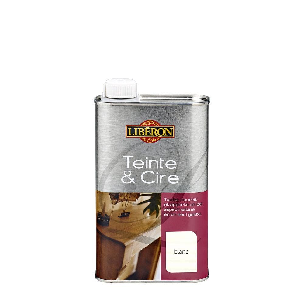Teinte Et Cire Blanc 500ml