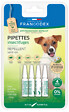 Pipettes insectifuges petit chien -10kg x4