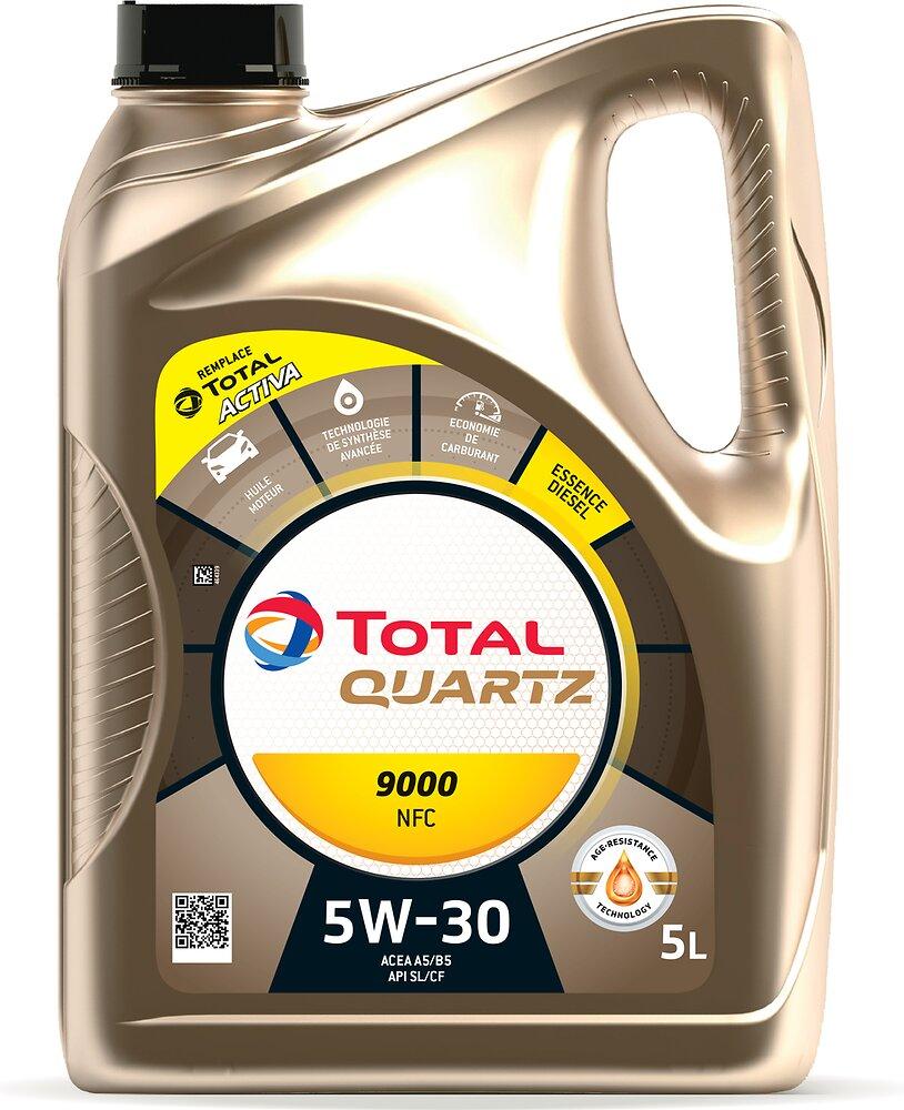 Huile Activa 9000 Futur NFC 5W30 Essence 5L TOTAL